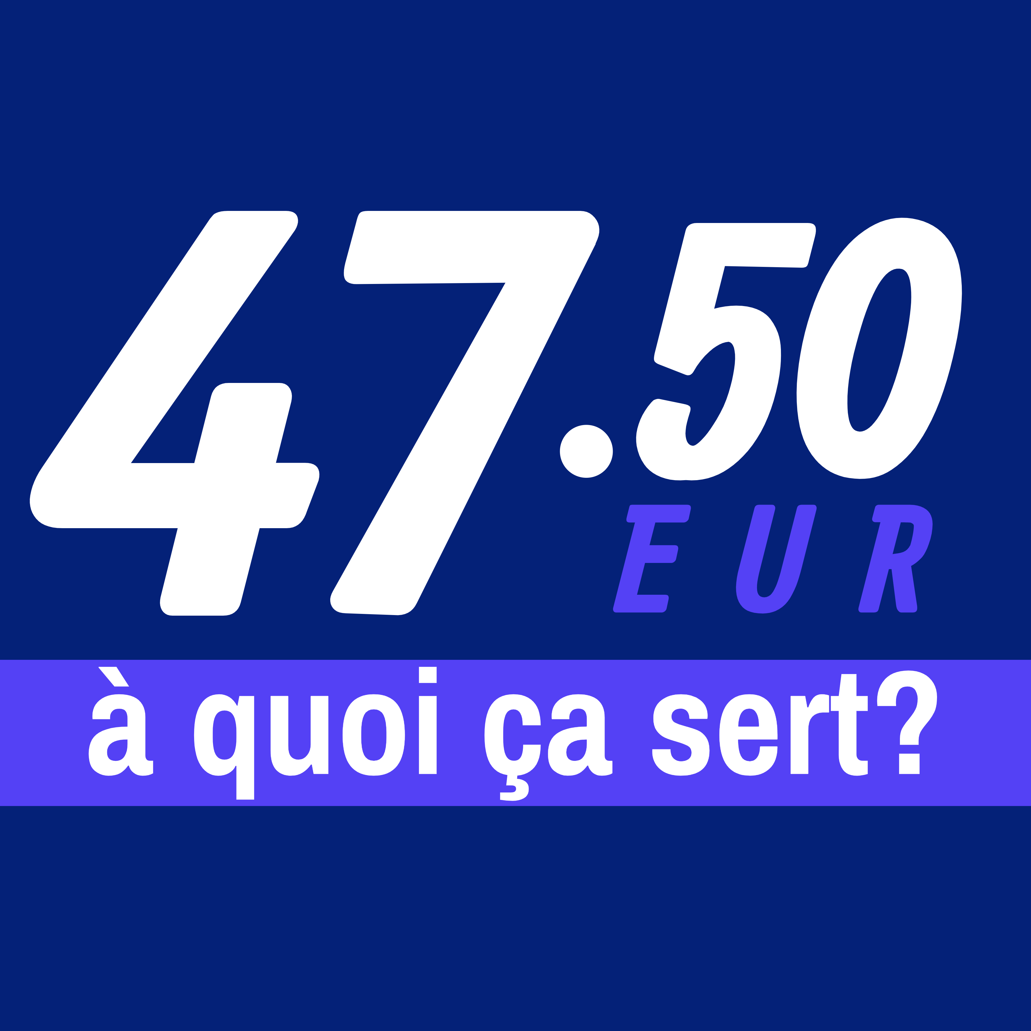 47.50€, le podcast